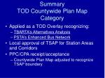 summary tod countywide plan map category