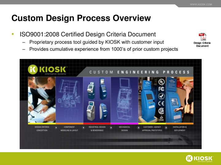 Custom Design Process Overview