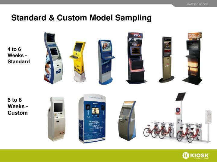 Standard & Custom Model Sampling