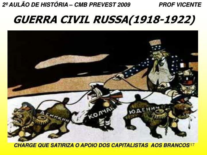 2º AULÃO DE HISTÓRIA – CMB PREVEST 2009                  PROF VICENTE