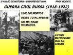 guerra civil russa 1918 19222