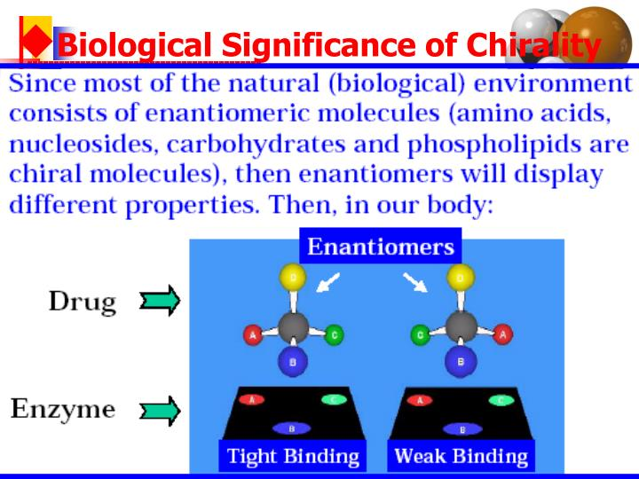 Biological Significance of Chirality