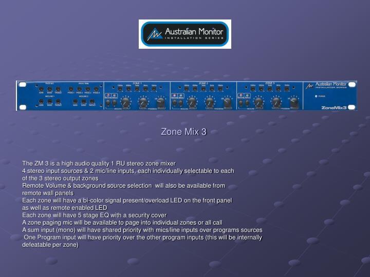 Zone Mix 3