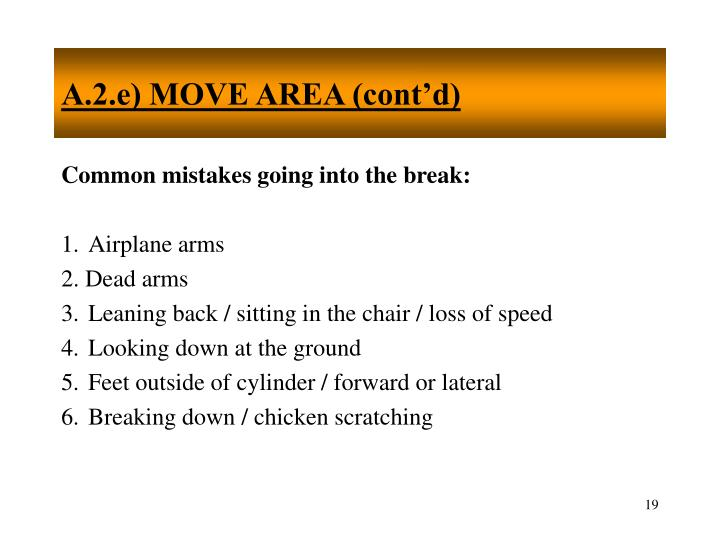 A.2.e) MOVE AREA (cont'd)