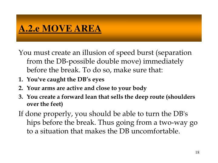 A.2.e MOVE AREA