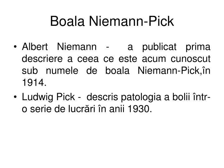Boala Niemann-Pick