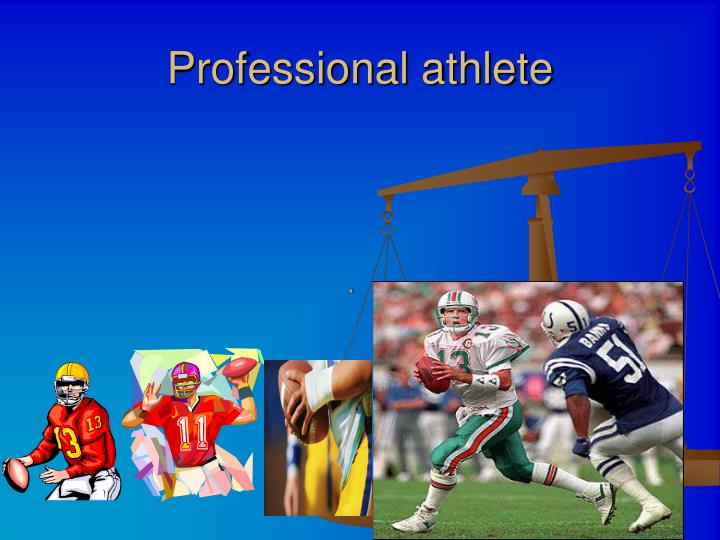Professional athlete