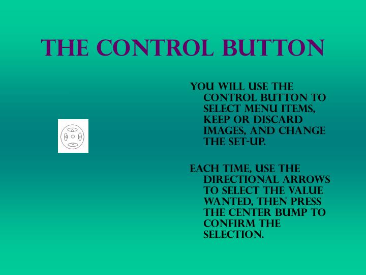 The Control Button