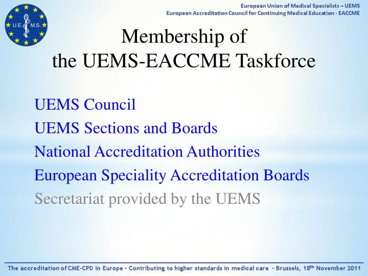 Membership of