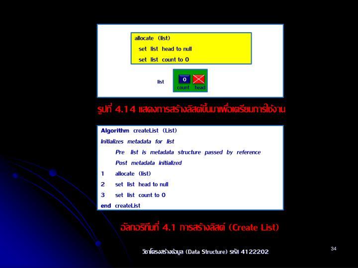 allocate  (list)