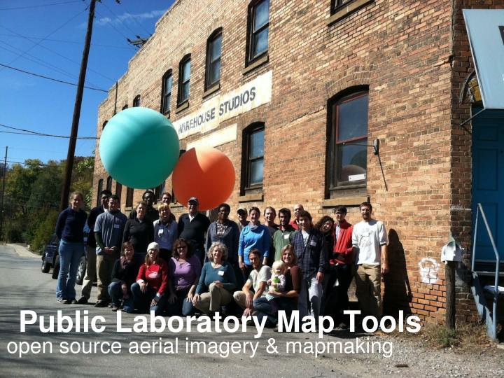 Public Laboratory Map Tools