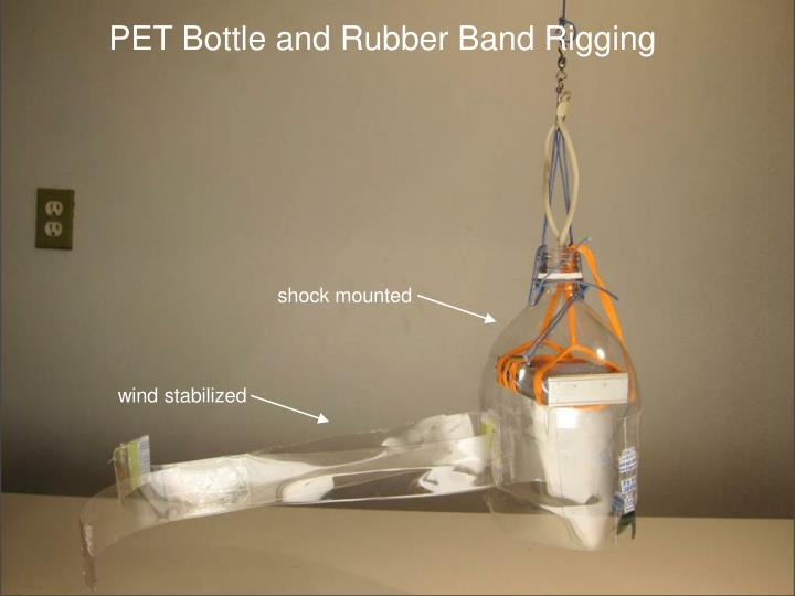 PET Bottle and Rubber Band Rigging
