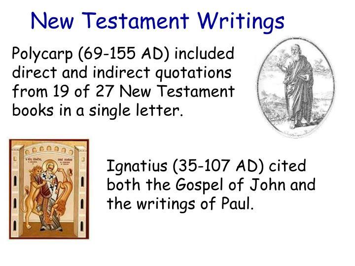 New Testament Writings