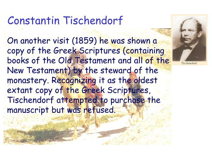Constantin Tischendorf