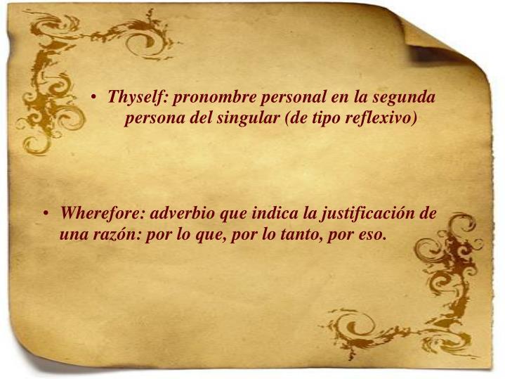 Thyself: