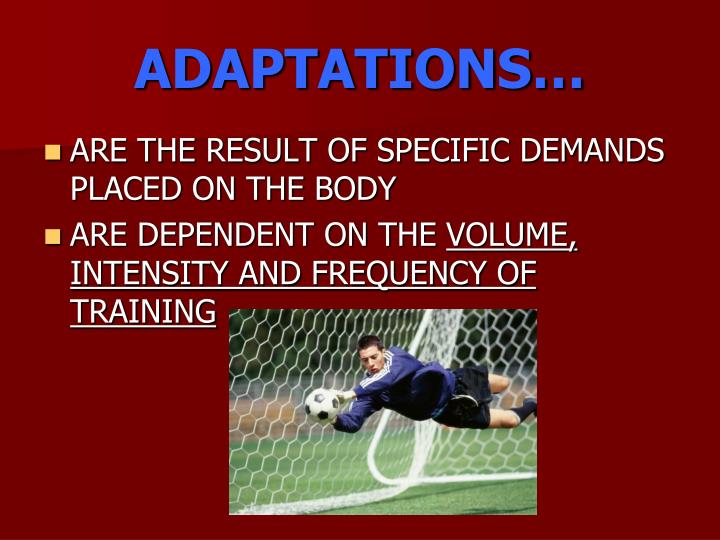ADAPTATIONS…