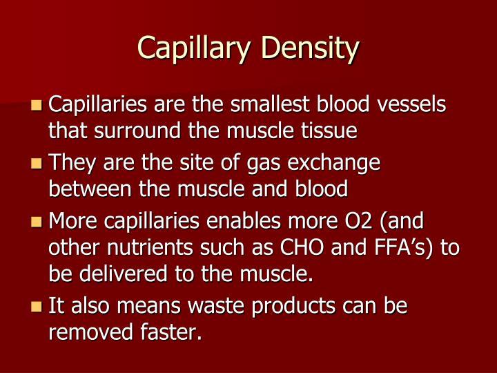 Capillary Density