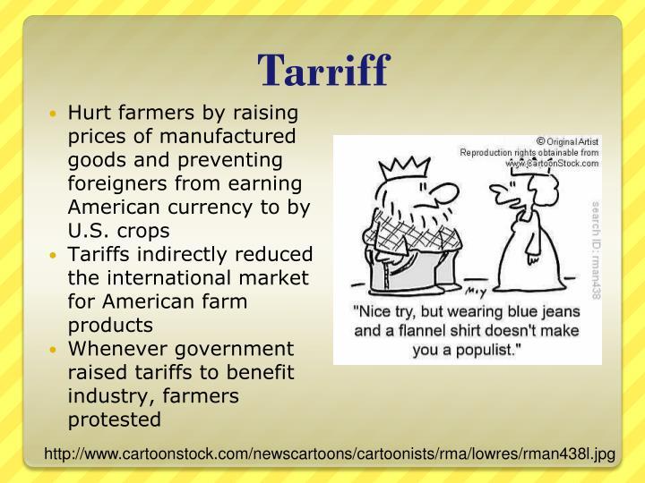 Tarriff