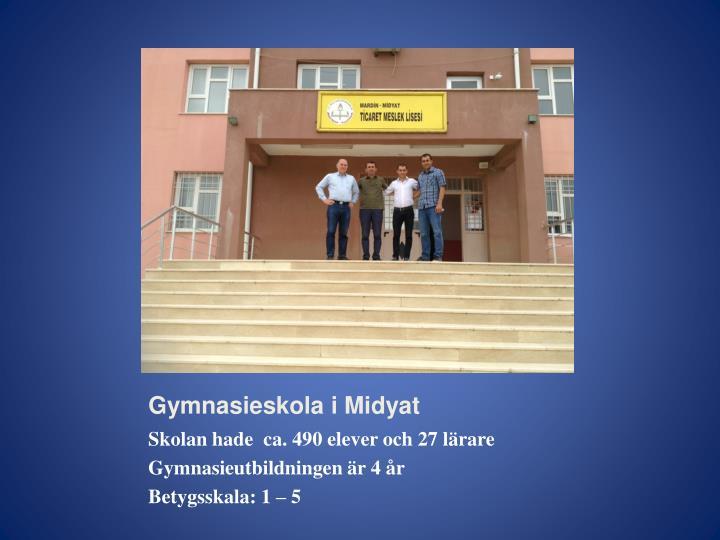 Gymnasieskola i Midyat