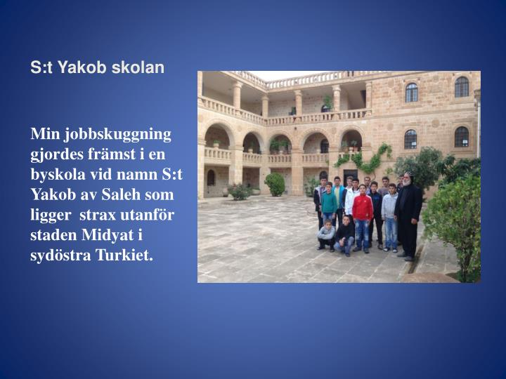 S:t Yakob skolan