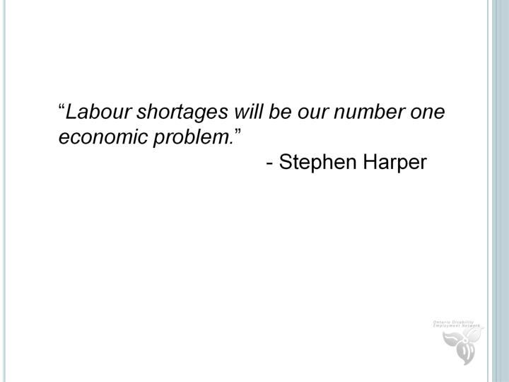 Labour Shortages