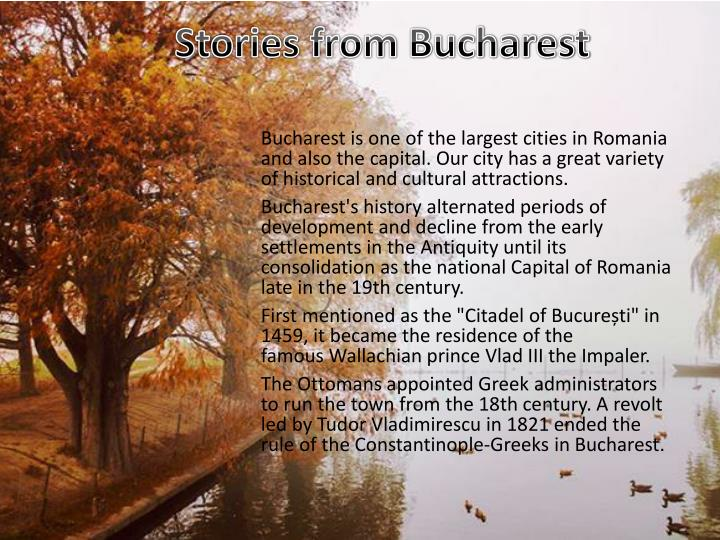 Stories from Bucharest