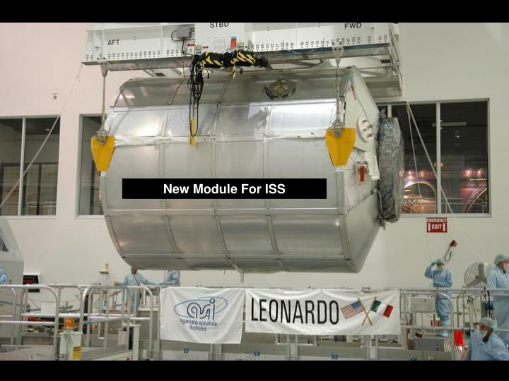 New Module For ISS