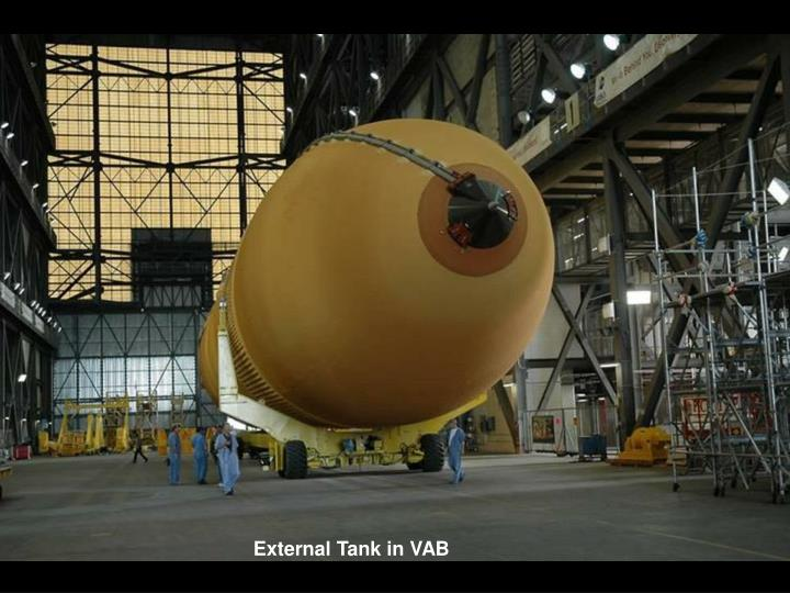 External Tank in VAB