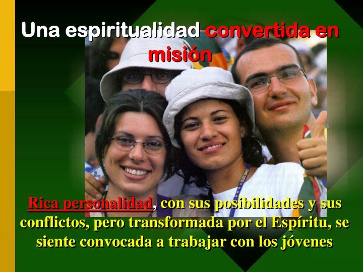 Una espiritualidad