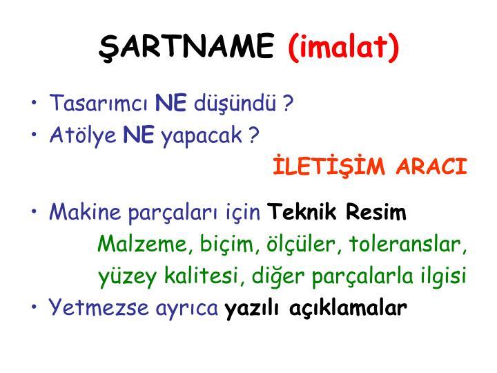 ŞARTNAME