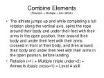 combine elements rotation multiple arm work