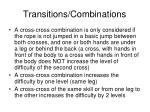 transitions combinations