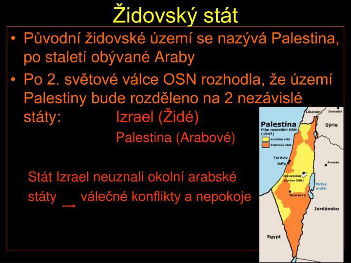 Židovský stát