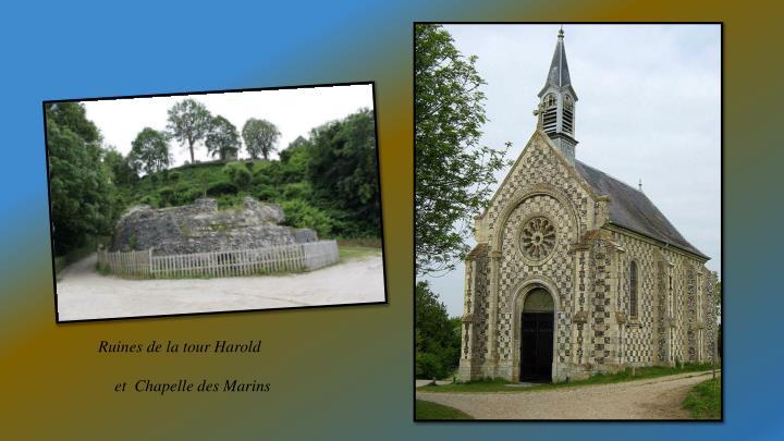 Ruines de la tour Harold
