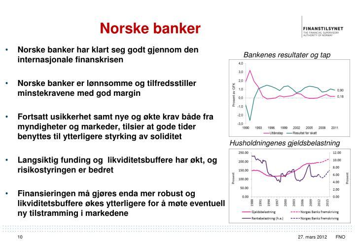 Norske banker