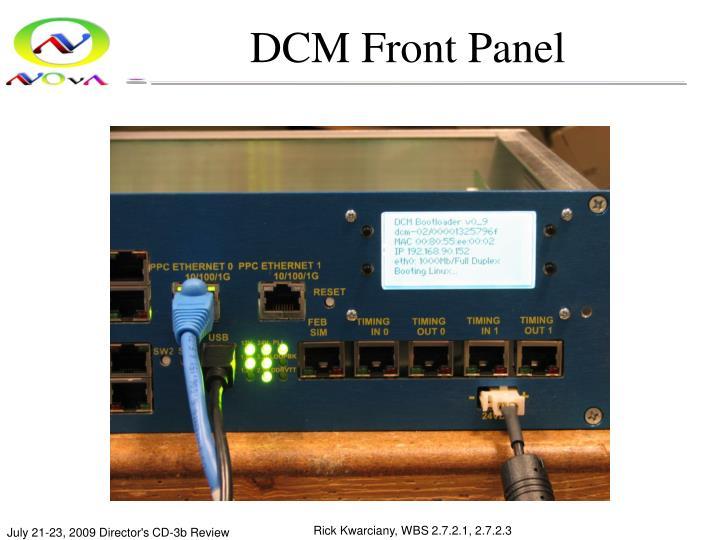 DCM Front Panel