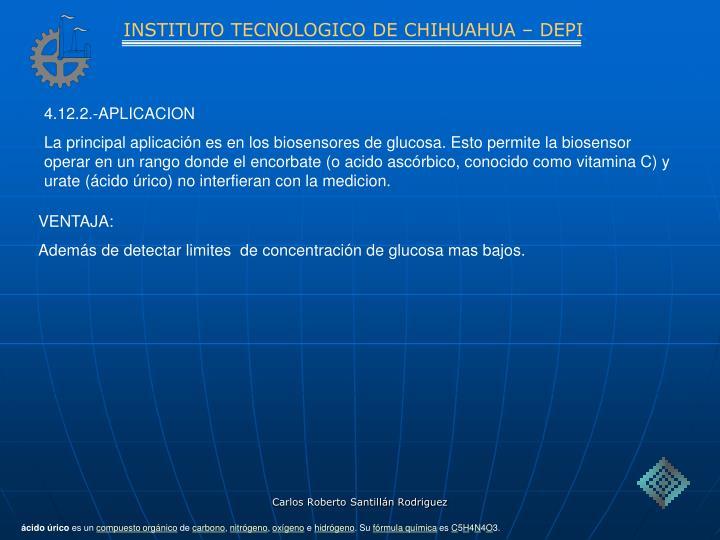 INSTITUTO TECNOLOGICO DE CHIHUAHUA – DEPI