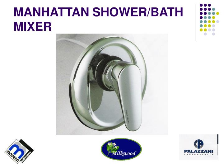 MANHATTAN SHOWER/BATH MIXER