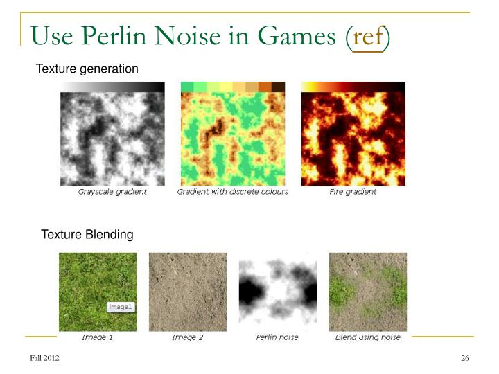Use Perlin Noise in Games (