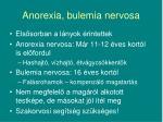 anorexia bulemia nervosa