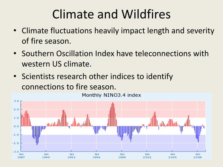 Climate and Wildfires
