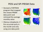 pdsi and spi prism data