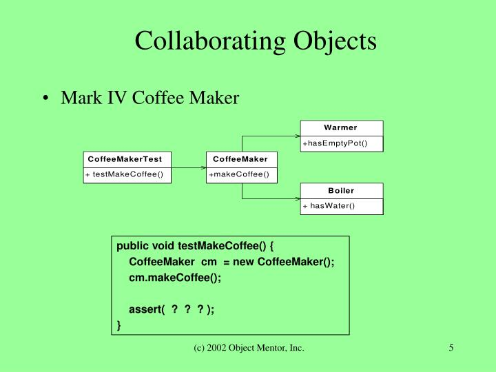 Collaborating Objects