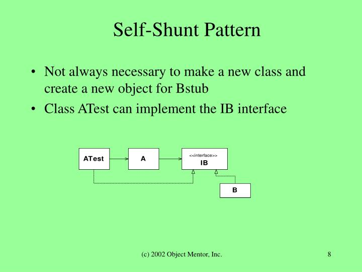Self-Shunt Pattern