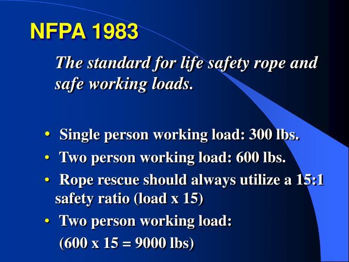 NFPA 1983