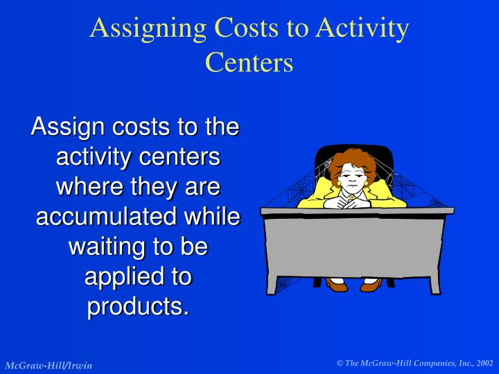 Assigning Costs to Activity Centers