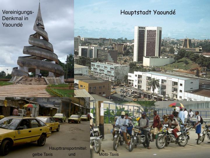 Vereinigungs-Denkmal in Yaoundé