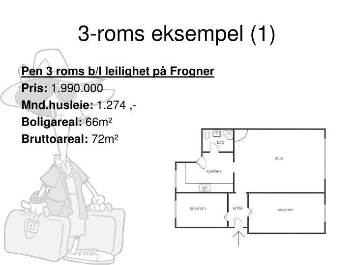 3-roms eksempel (1)