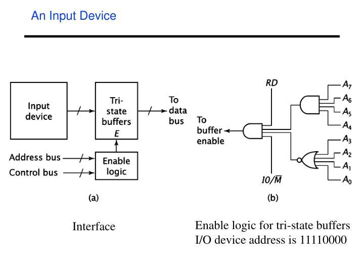 An Input Device