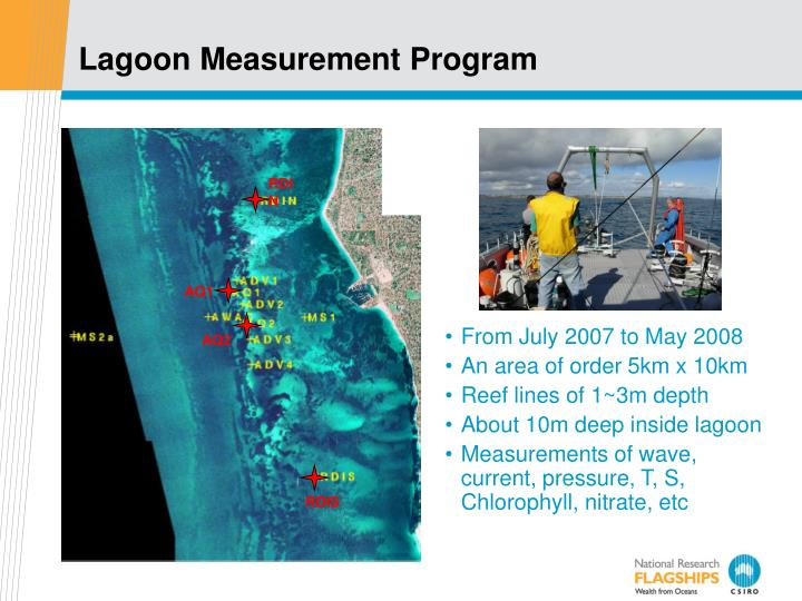 Lagoon Measurement Program